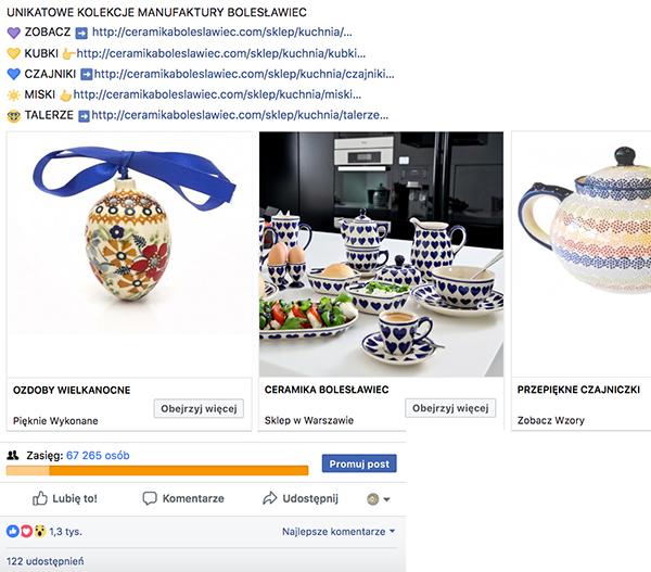 facebook carousel sprzedaz - Facebook